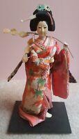 Vintage Japanese Geisha Doll Handmade