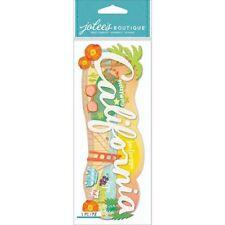 Jolee's Boutique Stickers - California Title  #970