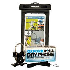 Oxford Motorcycle Motorbike Waterproof Phone Mount Aqua Dry Phone Case Holder