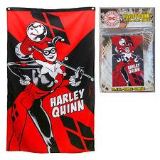 DC Comics Batman Harley Quinn Suicide Squad Joker Villain Banner FGXHQ