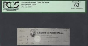 Portugal - 19** (ca.1928) Photographic Proof Unciruclated