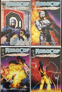 Robocop Prime Suspect Dark Horse comics 4-issue limited #1,#2,#3,#4 complete NM