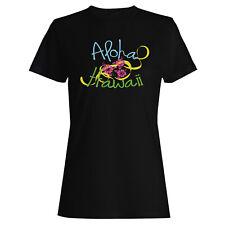 Aloha hawaii Ladies T-shirt/Tank Top gg883f