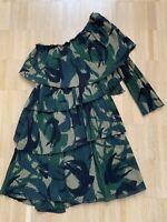 Orig. SONIA RYKIEL Paris Kleid Camouflage Runway Gr.34 limited NEU NP 749€