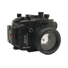SeaFrogs 40m/130ft Underwater Camera Housing for Canon G1X III