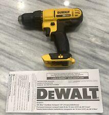 """Brandnew Dewalt DCD771B 20v 1/2"""" 2 Speed Drill Driver Li-ion Cordless"""