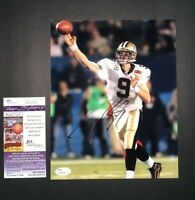 DREW BREES NEW ORLEANS SAINTS SIGNED AUTOGRAPHED 8X10 PHOTO JSA COA J62336