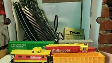 Tyco Train Lot Of 5, Control Panel, 19 Curved Tracks, 1 Controlled Track