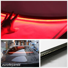 "Waterproof 36"" Length Autos LED Third High Brake Tail Light Red Rear Windshield"