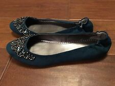 New In Box Adrienne Vittadini Flats - Monet, Jeweled