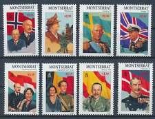 Montserrat Nr. 1040-1047 postfrisch / **, Europäische Monarchen (29617)