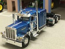 "1/64 DCP BLUE 389 PRIDE-N-CLASS PETERBILT W/ 63"" SLEEPER"
