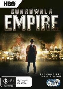 Boardwalk Empire : Season 1 (DVD, 2012, 5-Disc)*R4*Terrific Condition*R Rated