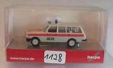Herpa 1/87 Nr. 048521 Wartburg 353 ´85 Kombi Krankenwagen RK OVP #1128