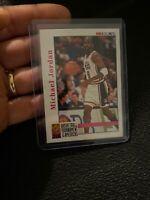 Michael Jordan 1992 NBA HOOPS #341 USA BASKETBALL RARE ICONIC Chicago NR INVEST