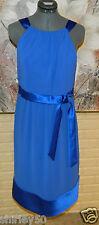 NWT ELEGANT AFTER SIX SIZE 8 BLUE BRIDAL SHOP SAMPLE NEVER WORN POLYESTER DRESS
