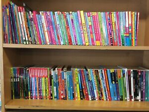 Job lot of 20 paperback books for children aged 6-8