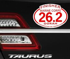 2017  any year Marine Corps Marathon D.C.Finisher Magnet Decal Car
