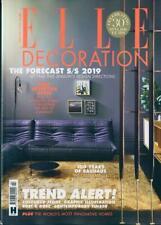 ELLE DECORATION MAGAZINE ISSUE FEBRUARY 2019 ~ NEW ~