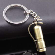 Creative Fire Extinguisher Pendant Key Chain Ring Bag Purse Decor Gift Wide