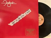 Foghat – Girls To Chat & Boys To Bounce LP 1981 Bearsville – BRK 3578 EX