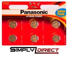 Panasonic CR2025EL6BP 3V Lithium Coin Cell Battery