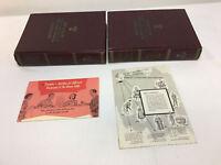 1958 BRITANNICA WORLD LANGUAGE DICTIONARY full set 1-2 + promotional materials