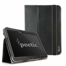 Poetic Slimbook Case for Samsung Galaxy Tab 3 10.1 Tablet Black - Imported