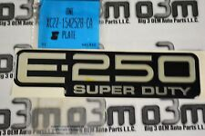 1999-2005 Ford E-250 Super Duty Nameplate Badge Emblem new OEM XC2Z-1542528-CA