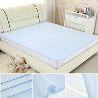 Lavable imperméable draps de lit d'incontinence matelas de protection de coussin
