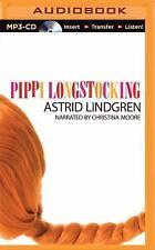 Pippi Longstocking by Astrid Lindgren (2015, MP3 CD, Unabridged)