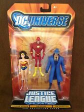 Justice League Unlimited Wonder Woman, The Flash & The Question Figures 3-Pack