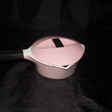 XXX RARE LE CREUSET casserole vintage rose pink 1930 1940 en fonte