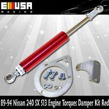 For 89-94 240SX S13 Engine Torques Damper Kit  SR20DET Engine Only RED