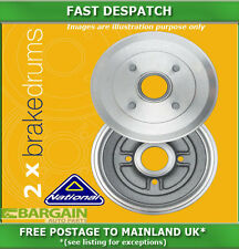 REAR BRAKE DRUMS FOR VAUXHALL MOVANO 2.5 10/1998 - 09/2000 4186