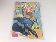 Comics Marvel 1990  Wolverine ghost rider  VO etat proche du neuf mint collector