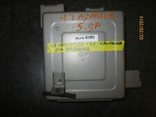 97 FORD ASPIRE 1.3L CALIFORNIA ECM #B3S418881B *See item description* (BOX-8380)