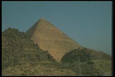 030097 Khufu Pirámide Con Queens Pirámides A4 Foto Impresión