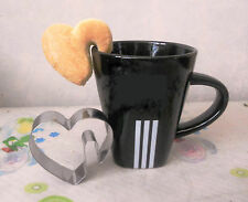 Heart Shape Hang Off Cup Party Fondant Baking Biscuit Cookie Cutter