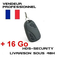 Mini Keychain Spy Camera 808 + Micro SD 16 GB Beep Car Wrench Keys CAR808