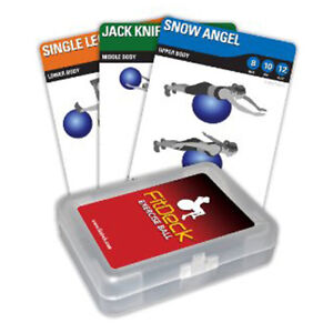 FitDeck Exercise Ball Playing Cards