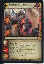 Lord Of The Rings Foil CCG Card RotK 7.C172 Troop Of Haradrim
