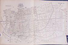 ORIGINAL 1885 MOTT HAVEN BRONX NY EAST 133RD-E. 144TH E. ROBINSON PLAT ATLAS MAP