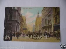 ANTIQUE VINTAGE COLOUR POSTCARD PITT STREET SYDNEY ART SERIES POSTED 1906