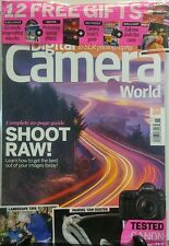 Digital Camera World Nov 2016 Shoot Raw Get Best of Your Images FREE SHIPPING sb