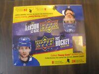 2020-21 Upper Deck Hockey Series 2 Retail Box. 24 Packs. 6 Young Guns Avg