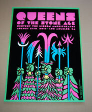 Kii Arens Martin Ontinoveros Queens of the Stone Age Hollywood Concert Print 13
