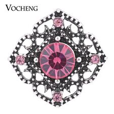 Snap Charms Jewelry Vocheng 4 Colors Vintage Metal Button 18mm Vn-1147