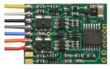 HO Scale NCE 171 D13W Quick Plug NMRA 9 Pin Decoder - Replacement for D13SR