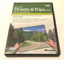 Microsoft Streets and Trips 2009 Version for Windows w/Product Key